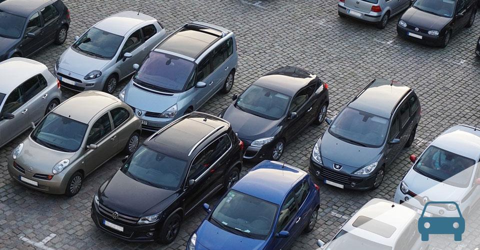 estacionamento para clientes em um edifício