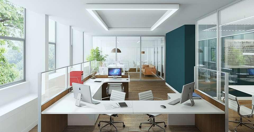 Arquitetura de escritório e identidade corporativa