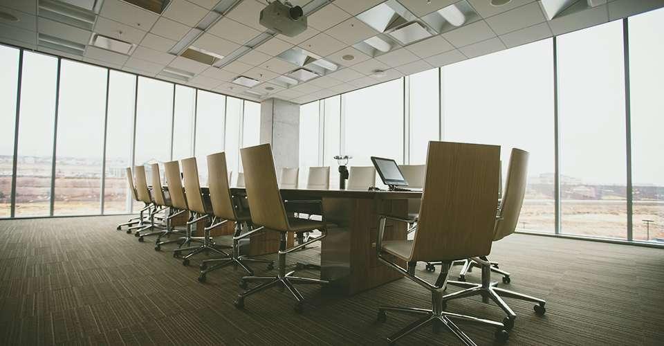 Espaço Business Center de um edifício empresarial