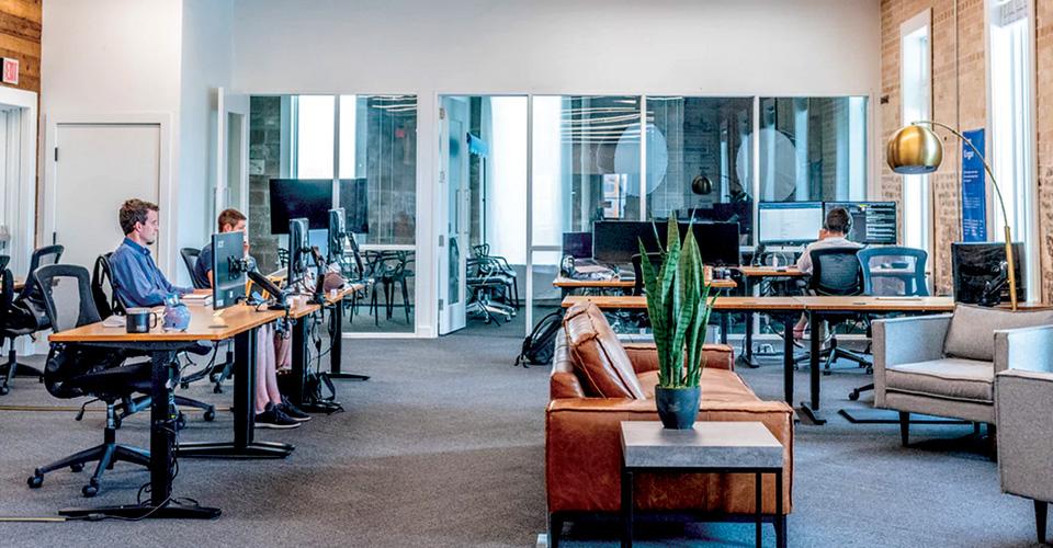 otimizando o espaço do escritório